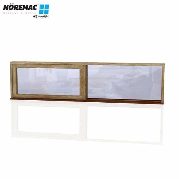 Timber Awning Window, 2410 W x 600 H, Double Glazed
