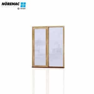 Timber Casement Window, 1210 W x 1540 H, Single Glazed