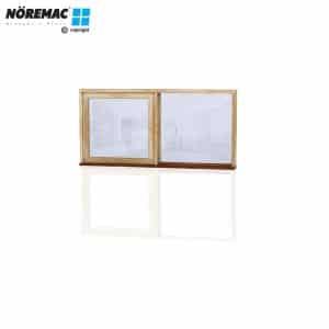 Timber Casement Window, 1570 W x 772 H, Double Glazed