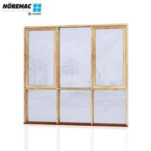 Timber Casement Window, 2170 W x 2058 H, Single Glazed