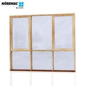 Timber Casement Window, 2410 W x 2058 H, Single Glazed