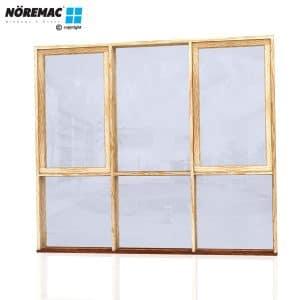 Timber Casement Window, 2410 W x 2100 H, Double Glazed