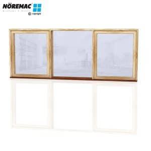 Timber Casement Window, 2530 W x 1030 H, Single Glazed