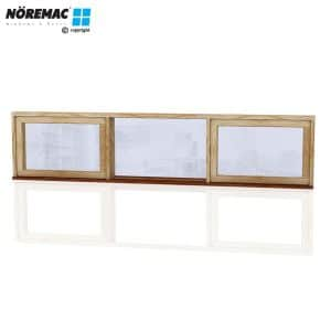 Timber Casement Window, 2530 W x 600 H, Double Glazed
