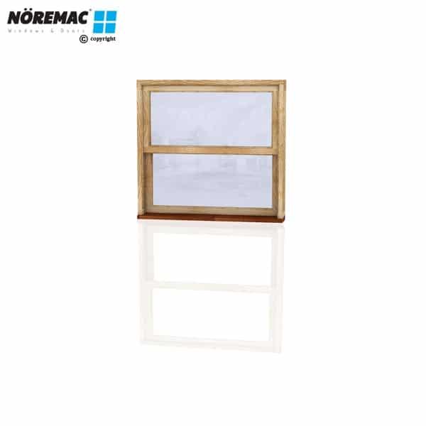 Timber Double Hung Window, 1090 W x 1030 H, Single Glazed