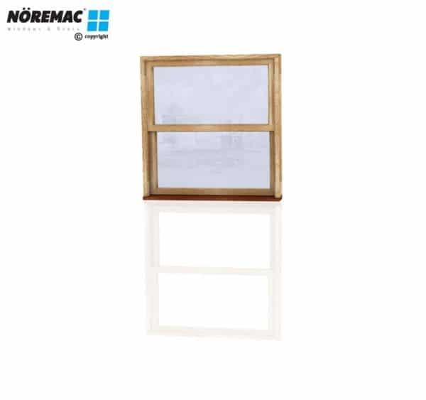 Timber Double Hung Window, 1090 W x 1200 H, Single Glazed