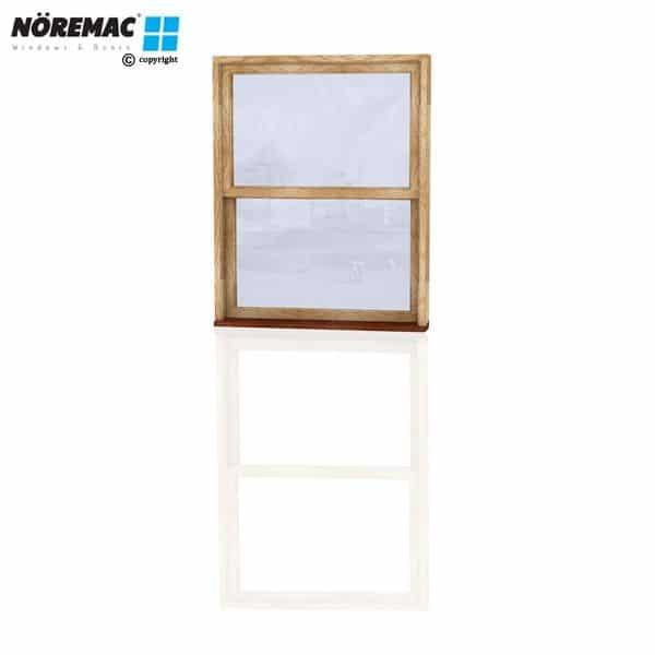 Timber Double Hung Window, 1090 W x 1370 H, Single Glazed