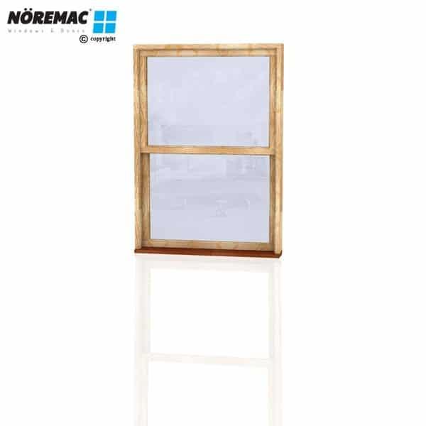 Timber Double Hung Window, 1090 W x 1540 H, Single Glazed