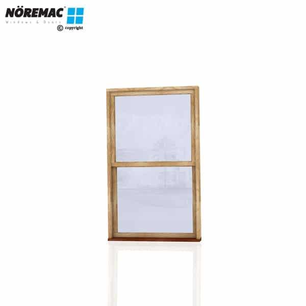 Timber Double Hung Window, 1090 W x 1800 H, Single Glazed