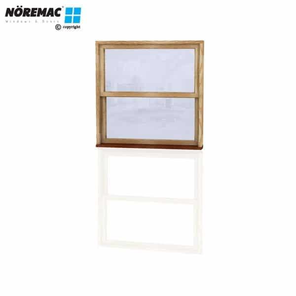 Timber Double Hung Window, 1210 W x 1200 H, Single Glazed