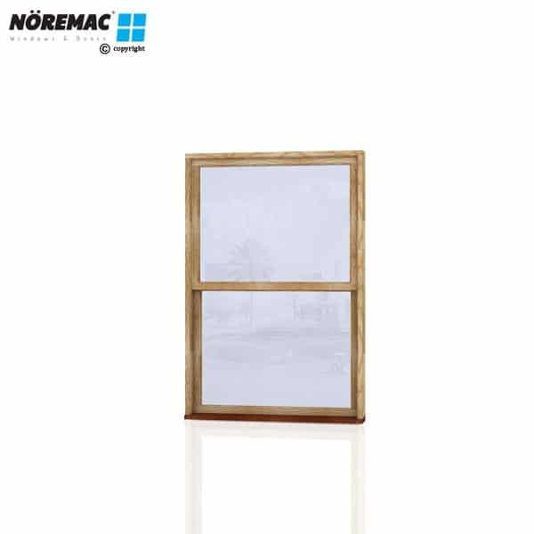 Timber Double Hung Window, 1210 W x 1800 H, Single Glazed