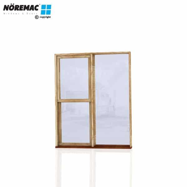 Timber Double Hung Window, 1450 W x 1800 H, Single Glazed