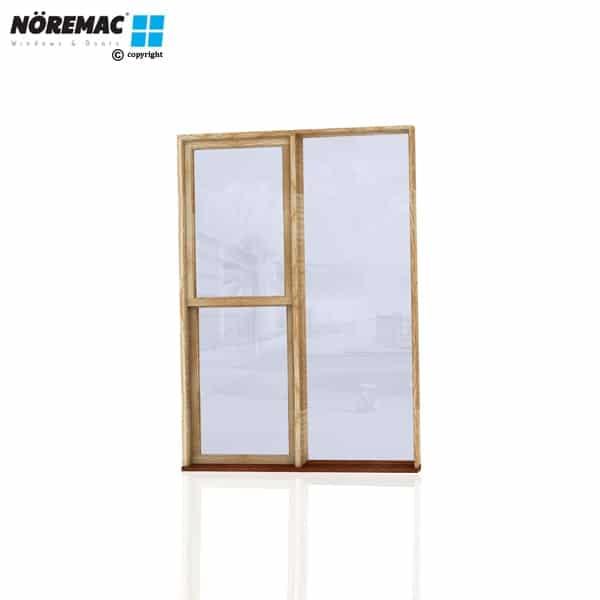 Timber Double Hung Window, 1450 W x 2058 H, Single Glazed
