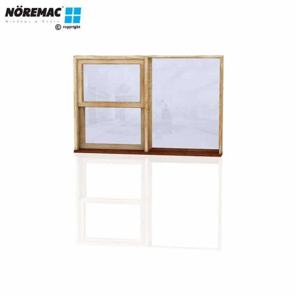 Timber Double Hung Window, 1570 W x 1030 H, Single Glazed