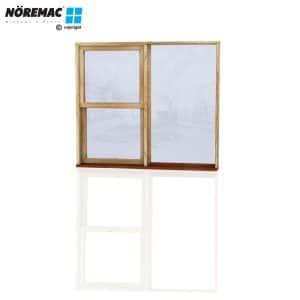 Timber Double Hung Window, 1570 W x 1370 H, Single Glazed