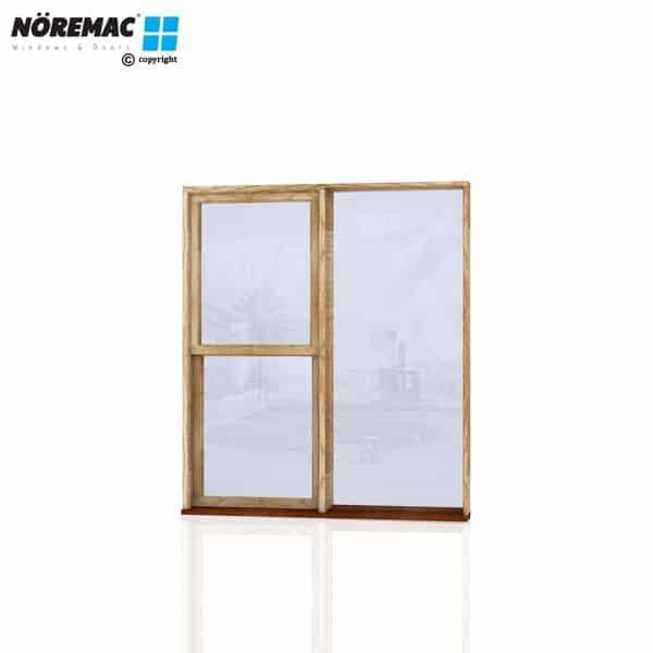 Timber Double Hung Window, 1570 W x 1800 H, Single Glazed