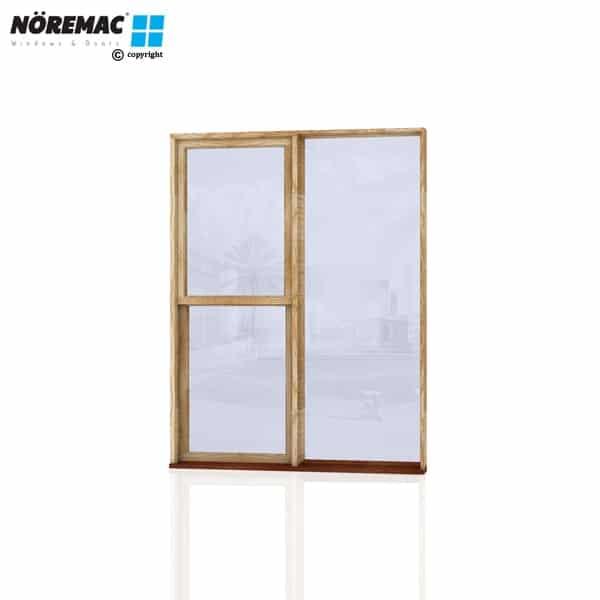 Timber Double Hung Window, 1570 W x 2058 H, Single Glazed