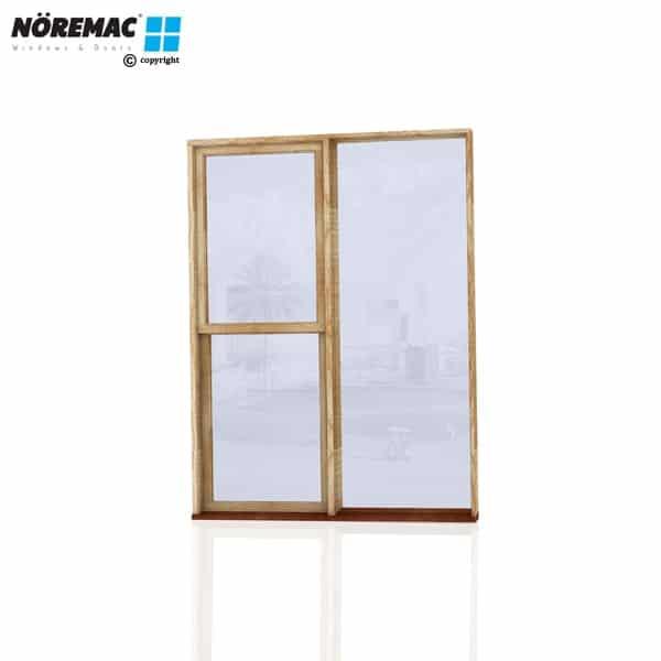 Timber Double Hung Window, 1570 W x 2100 H, Single Glazed