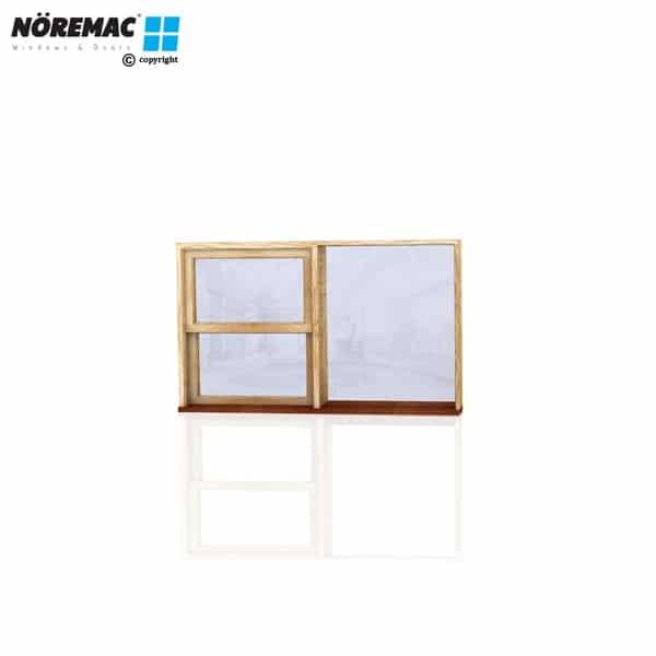 Timber Double Hung Window, 1570 W x 944 H, Double Glazed