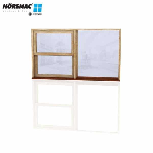 Timber Double Hung Window, 1810 W x 1030 H, Single Glazed
