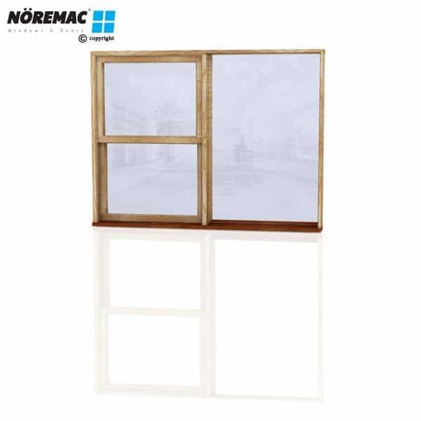 Timber Double Hung Window, 1810 W x 1370 H, Single Glazed