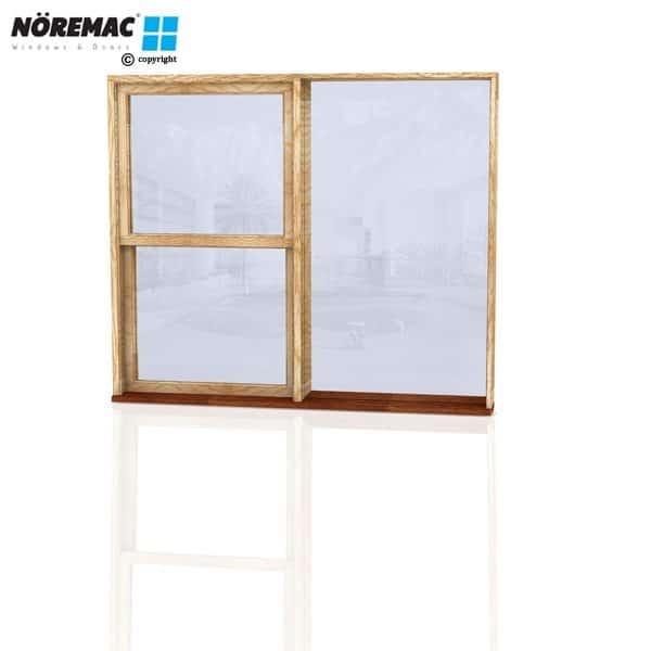 Timber Double Hung Window, 1810 W x 1540 H, Single Glazed