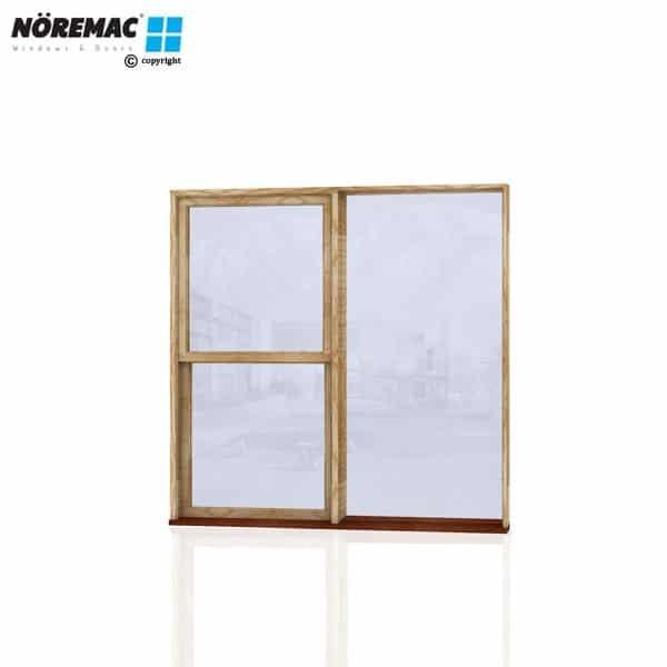 Timber Double Hung Window, 1810 W x 1800 H, Single Glazed