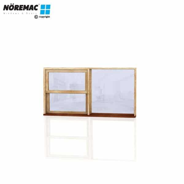 Timber Double Hung Window, 1810 W x 944 H, Single Glazed