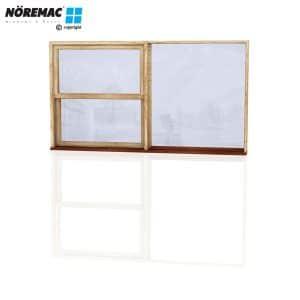 Timber Double Hung Window, 2170 W x 1200 H, Double Glazed