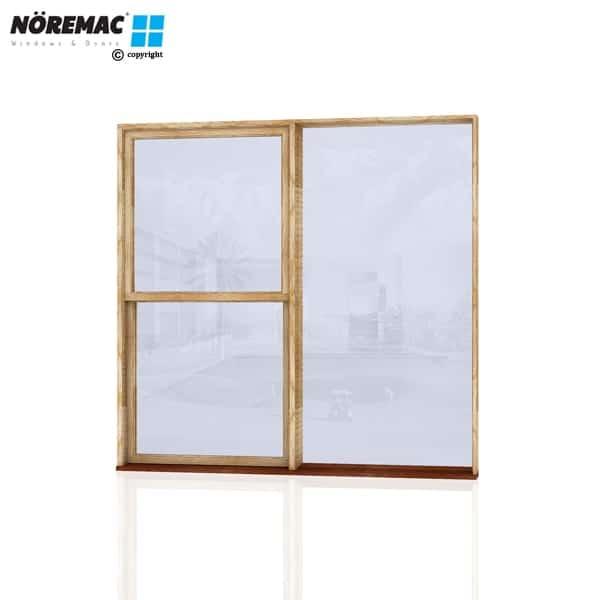 Timber Double Hung Window, 2170 W x 2100 H, Single Glazed