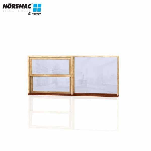 Timber Double Hung Window, 2170 W x 944 H, Single Glazed