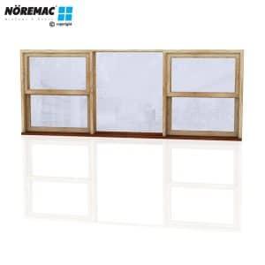 Timber Double Hung Window, 2650 W x 1030 H, Single Glazed
