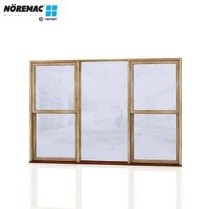 Timber Double Hung Window, 2650 W x 1800 H, Single Glazed