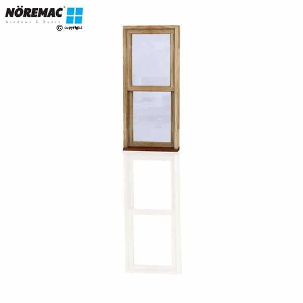 Timber Double Hung Window, 610 W x 1370 H, Single Glazed