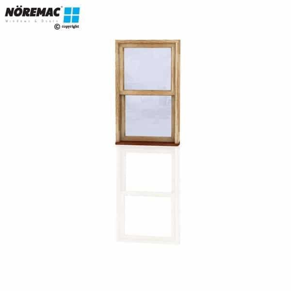 Timber Double Hung Window, 730 W x 1200 H, Single Glazed