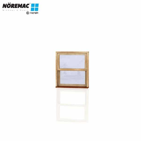 Timber Double Hung Window, 850 W x 944 H, Single Glazed