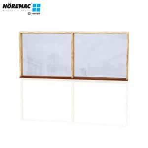 Timber Fixed Window, 2410 W x 1030 H, Double Glazed