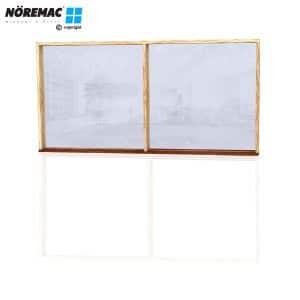 Timber Fixed Window, 2410 W x 1200 H, Double Glazed