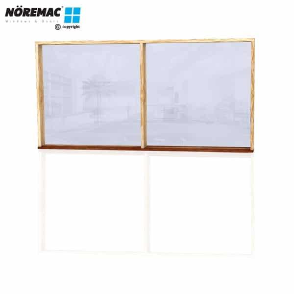 Timber Fixed Window, 2410 W x 1200 H, Single Glazed