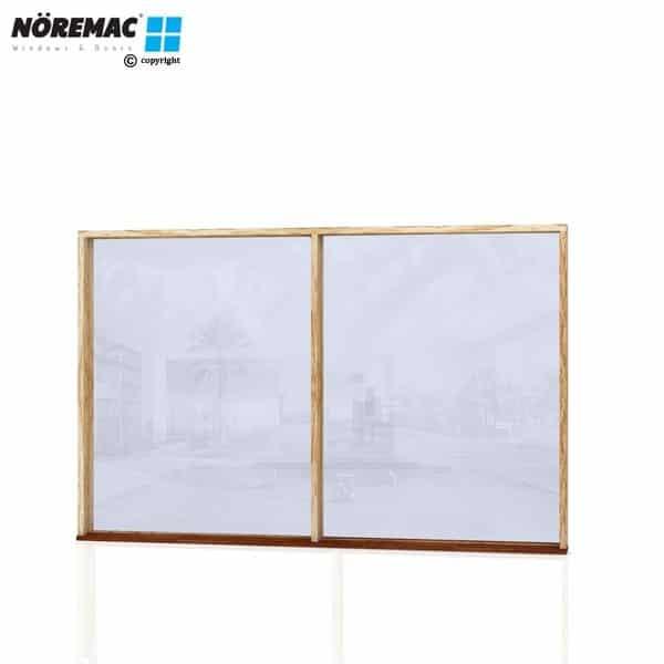 Timber Fixed Window, 2410 W x 1540 H, Single Glazed
