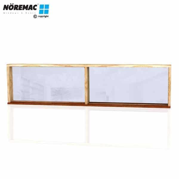 Timber Fixed Window, 2410 W x 600 H, Double Glazed