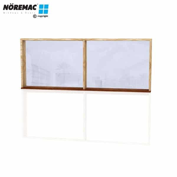Timber Fixed Window, 2410 W x 944 H, Single Glazed