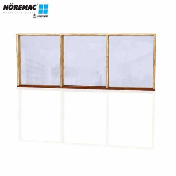 Timber Fixed Window, 2650 W x 1030 H, Single Glazed
