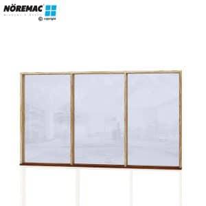 Timber Fixed Window, 2650 W x 1540 H, Single Glazed