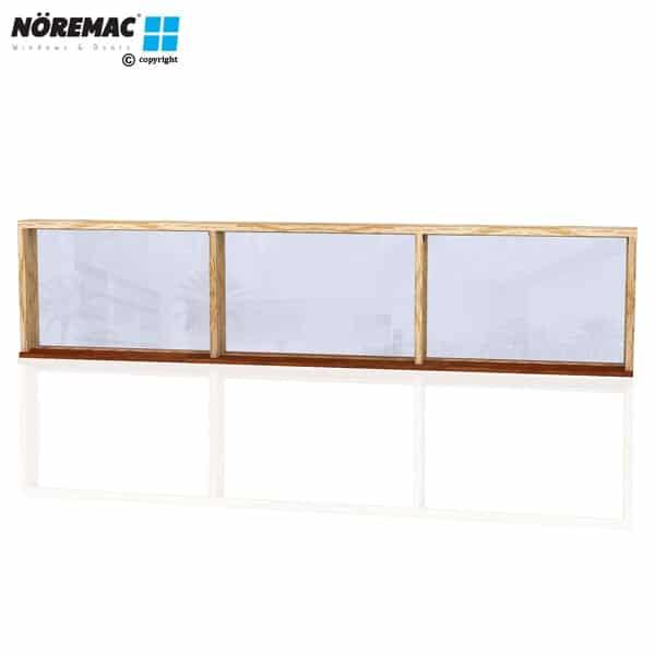 Timber Fixed Window, 2650 W x 600 H, Single Glazed