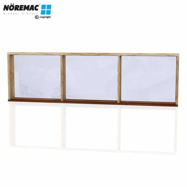 Timber Fixed Window, 2650 W x 772 H, Single Glazed
